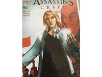 Uncharted and assassin creed comics
