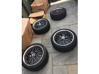 "VW/BMW/Audi 4 112 x 5 18"" alloys with Tyres"