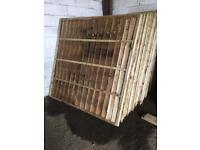 Fence panels 6ft