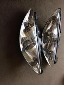 Peugeot 308 headlamps