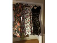 Dresses from Ghost, Wallis, Dorothy Perkins, Newlook