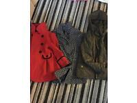 3 girls coats
