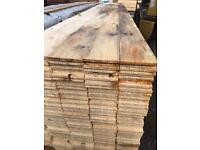 5x1 t&g floorboards 4.8mtr £6 each