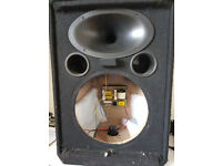 Wharfedale Pro EVP-X 12 spares, unloaded, no bass speaker