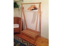 Bamboo Clothes Rail / Hanger