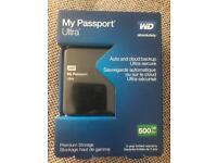 WD External hard drive 500GB