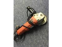 Black & Decker mini angle grinder