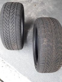Winter Tyres - 2 x Vredestein Wintrac Extreme Winter Tyres 205 50 17 93V