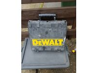 TWO DRILL BOXES - DEWALT NEEDS A CLEAN + BLACK & DECKER IN GOOD CONDITION £5 FOR THE TWO