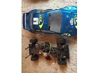 Tamiya electric Subaru car