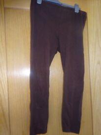 Debenhams Cropped Leggings Size 12