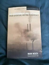 The Environment and the Press; from adventure writing to advocacy - Mark Neuzil