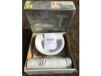 Brand New in Box Basin and Pedestal