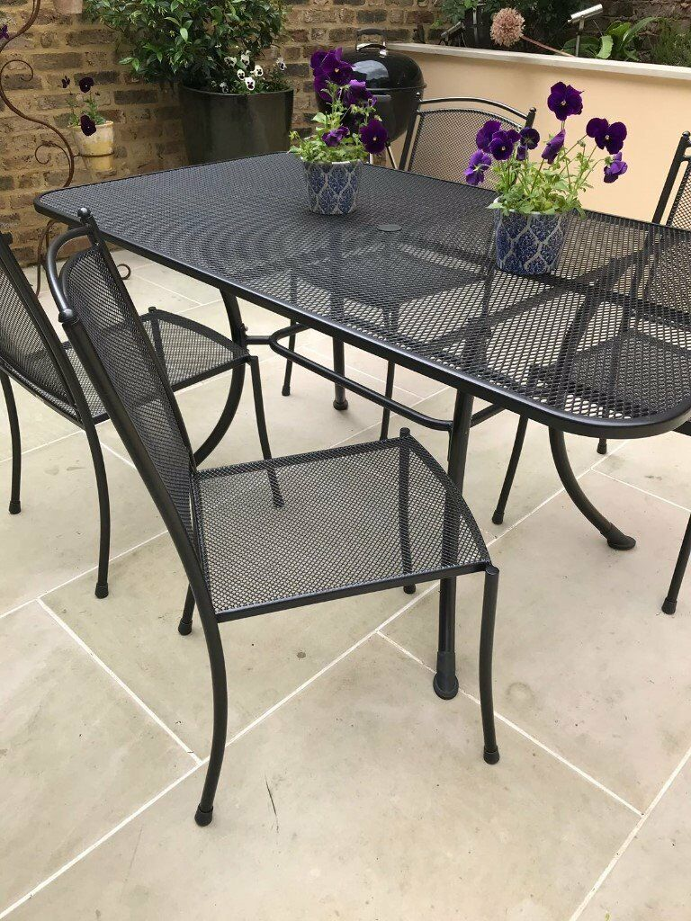Beautiful garden table and seats camden