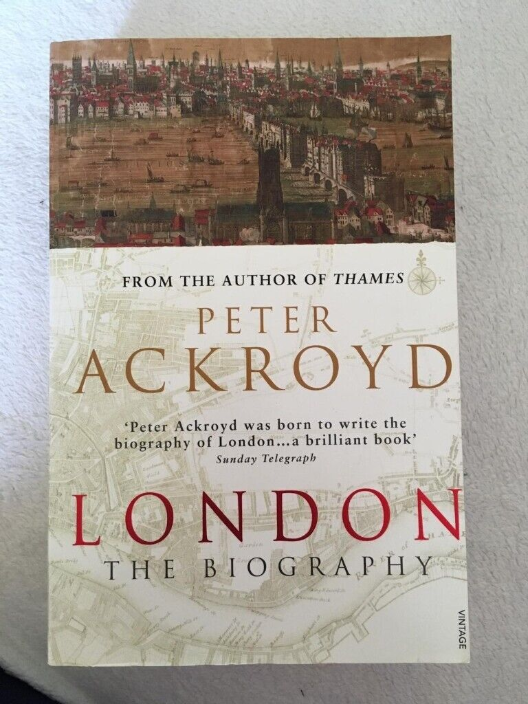 London: The Biography by Peter Ackroyd | in Shenley Church End,  Buckinghamshire | Gumtree