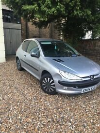 £750 (ONO) Peugeot 206 1.1L '04 plate only 47500 miles
