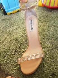 Steve Madden strappy jewelled heels. Size 5 Rrp £85