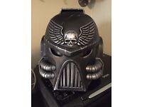 Warhammer 40000 Ultramarine custom made helmet