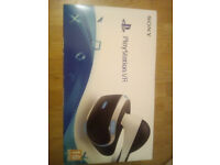 Playstation VR Headset absolutely new for sale