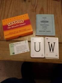 Lexicon The Wonder Game