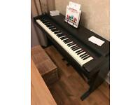 Roland digital piano. Electric keyboard.