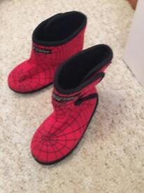 Spider-Man boots slippers
