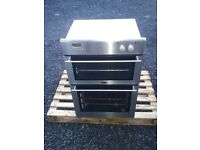 Stainless Belling XOU 483 electric double oven