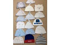Baby hats, mittens, booties