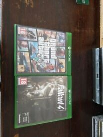 Xbox one GTA 5 and fall out 4