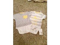 Brand new baby vests