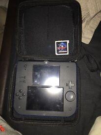 Nintendo sky3ds + card and Nintendo 2ds