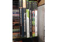 Xbox original games. Vintage