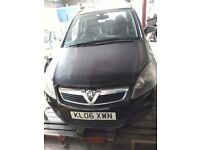 Vauxhall Zafira 2006 for spares or repair.