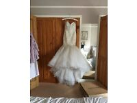 Wedding dress size 8 (petite)