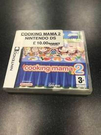 Cooking Mama 2, Nintendo DS Game 0203 556 6824