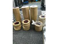 Masking tape and food bags
