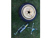 Space saver wheel for Mazda 3 5x114,3