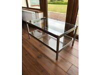 M&S Glass Coffee Table