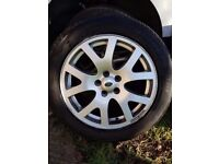 """Landrover Discovery alloy wheels 19"""" set of 4"""
