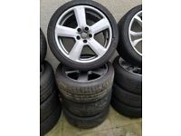 Genuine Audi S-Line Alloy Wheels 18'' Can Sell Singles Can Post Part Exchange Welcome