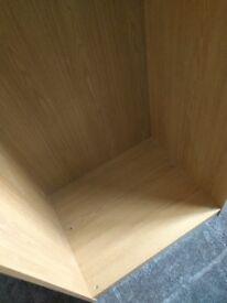 IKEA pax Wardrobe Frame - Oak 75cm by 201cm
