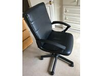Executive faux leather chair from Staples