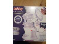 Nuby Breast Pump set