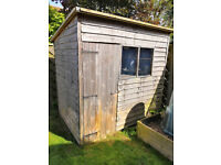 5ft x 8ft pent shed