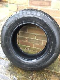 Firestone fuelsaver tyre 175/80/14. 6mm