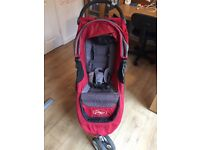 Baby Jogger City Mini Pushchair / Stoller with Cosy-toe and Raincover