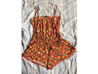 Size 14-16 pineapple playsuit