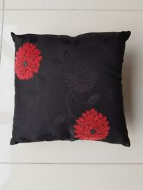 Black and Red cushion covers