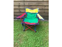 Children's foldable picnic/camping chair