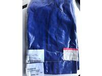 Royal blue brand new scrub trousers
